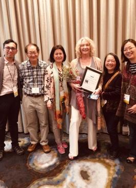 恭喜Catherine Nugent獲頒美國ASGPP終身成就獎